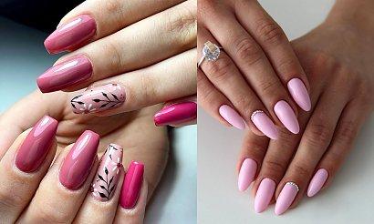 Różowy manicure w modnych odsłonach - galeria rewelacyjnych stylizacji