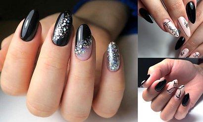 25 najciekawszych pomysłów na czarny manicure! [GALERIA]