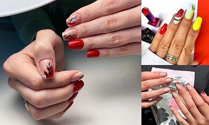26 pomysłów na czerwony manicure - galeria najciekawszych stylizacji