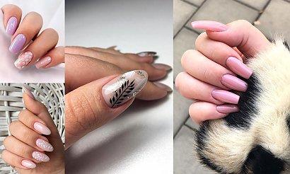 Nude manicure - 21 najpiękniejszych beżowych stylizacji
