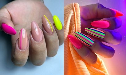 Neonowe paznokcie w najpiękniejszym wydaniu - 25 inspiracji na lato