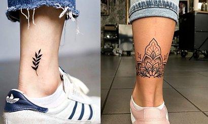 Tatuaże w okolicy kostki - 25 fantastycznych dziewczęcych wzorów