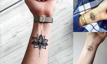 16 fantastycznych propozycji na tatuaż z kwiatem lotosu! [galeria]
