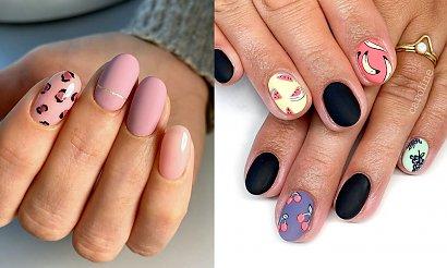 Matowy manicure - TOP 21 stylizacji z sieci