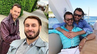 """Gabriel i Rafał z """"Królowych życia"""" jednak się nie rozstali? Bawili się razem na urodzinach..."""