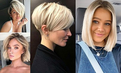 Krótkie blond fryzury na lato – 23 zjawiskowe cięcia!