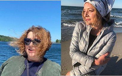 Małgorzata Ostrowska - Królikowska odmłodziła się nową fryzurą przynajmniej o kilka lat. Czyżby inspirowała się ulubionymi gwiazdami?