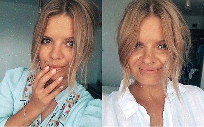 """Marta Manowska zaprezentowała nową fryzurę: """"Piękna kobieta"""" - chwalą internauci. Ale selfie brzydkie?"""