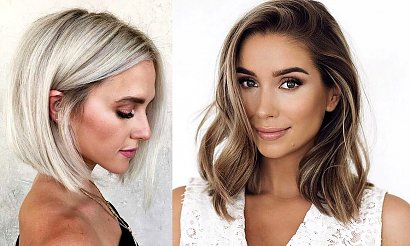 Praktyczne i wygodne fryzury dla półkrótkich i półdługich włosów