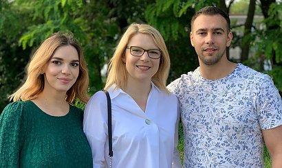 """Asia ze """"Ślubu od pierwszego wejrzenia"""" wystąpiła u Oliwii i Łukasza. Fani: Jacy oni są nudni!"""