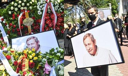 Pogrzeb Andrzeja Strzeleckiego. Gwiazdy i bliscy żegnają aktora