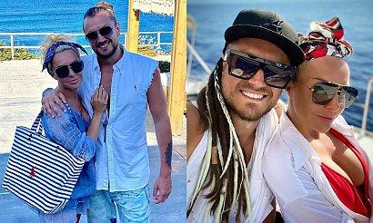 Blanka Lipińska bez stanika i w bikini w Grecji! Podsumowała pierwsze wakacje z Baronem
