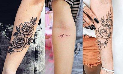 Tatuaż na przedramię - 18 ciekawych wzorów dla kobiet