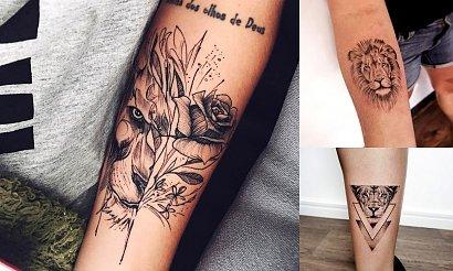 15 kobiecych tatuaży z motywem lwa w roli głównej! [GALERIA]
