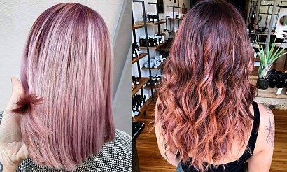 Rose gold - niezwykle charyzmatyczna koloryzacja włosów na LATO 2020