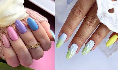 Pastelowy manicure - 16 letnich inspiracji, od których ciężko oderwać wzrok!