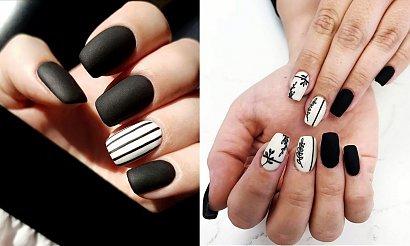 Czarno-biały manicure rządzi - kilkanaście ultraciekawych wzorów