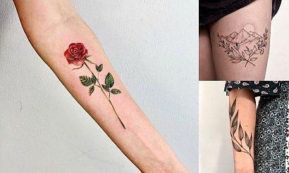 Tatuaże inspirowane naturą - 25 modnych wzorów