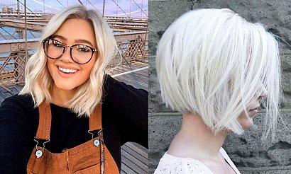 Fryzury krótkie i półkrótkie dla kobiet o jasnych włosach - pixie, bob, undercut i inne