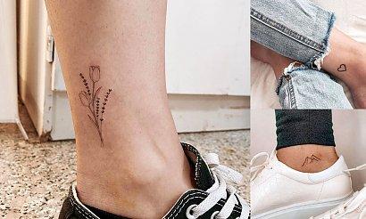 Tatuaże w okolicy kostki - galeria wyjątkowych wzorów