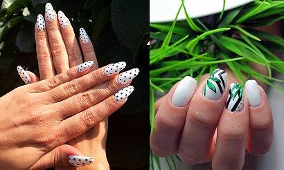 Biały manicure - 30 przepięknych i modnych stylizacji