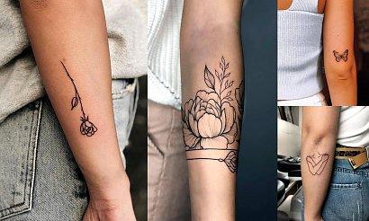 Tatuaż na rękę - 20 oryginalnych i dziewczęcych wzorów