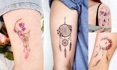 Tatuaż łapacz snów - 17 niesamowitych wzorów dla kobiet