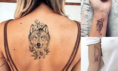 Tatuaż z motywem wilka - 18 ultrakobiecych pomysłów