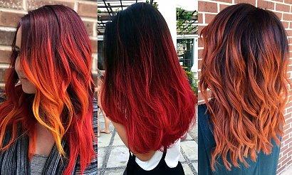 Koloryzacja włosów na JESIEŃ - czerwienie i rudości w najmodniejszych odsłonach