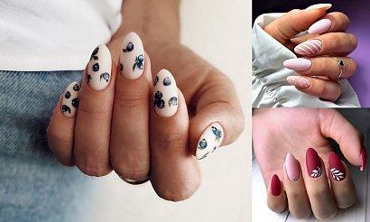 Matowy manicure - TOP 30 stylizacji z sieci
