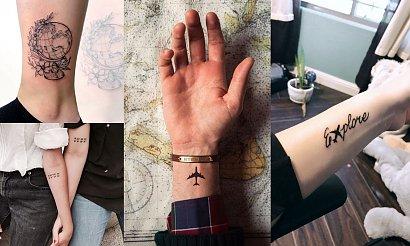 25 fantastycznych pomysłów na tatuaż z motywem podróży! [GALERIA]