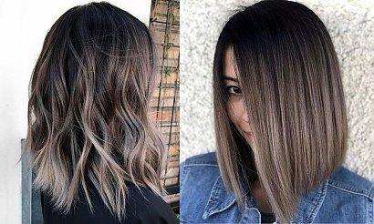 Popielaty brąz - 21 stylowych koloryzacji włosów