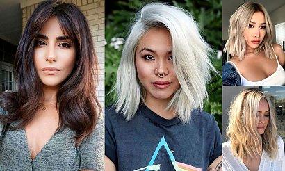 Fryzury dla włosów półdługich - 20 najpiękniejszych cięć