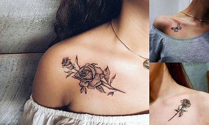 Tatuaż na obojczyk - 21 fantastycznych projektów
