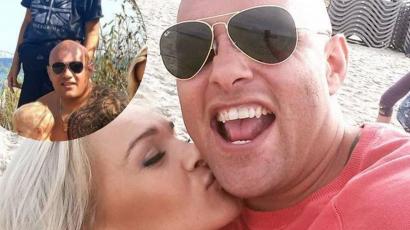 """Dominik z """"Gogglebox"""" chwali się rodzinną fotką z plaży. Pozuje z żoną i trójką uroczych chłopców"""