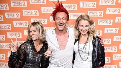 Michał Wiśniewski wystąpił na scenie z dwiema byłymi żonami. Wyglądają, na zgodną rodzinę?