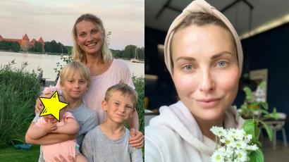 Joanna Moro ochrzciła córeczkę. Zdjęcia z uroczystości podbiły serca internautów. Mama i córka w bieli skradły show