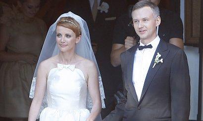 Katarzyna Zielińska obchodzi 7. rocznicę ślubu. Miała NAJBRZYDSZĄ suknię ślubną w polskim show-biznesie?!