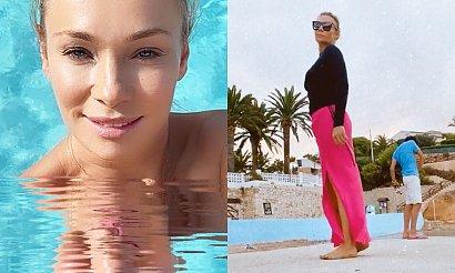Sonia Bohosiewicz pokazała się w bikini! Fanka: Szacun! Nie boi się pani hejtu na temat cellulitu