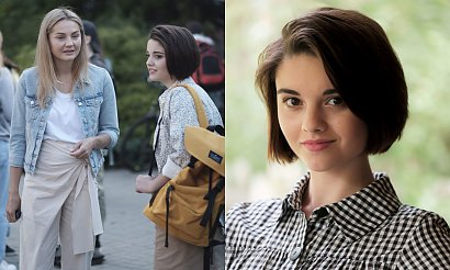 """Siostra Julii Wieniawy zagra w """"Przyjaciółkach""""! Są już pierwsze zdjęcia z planu!"""