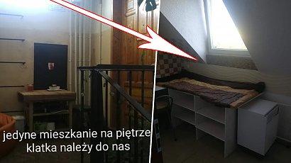 Wrocław: 1-osobowy pokój za 650 zł ze spaniem na regale i kafelkami na ścianach?! Cena adekwatna?