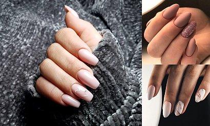Beżowy manicure - kilkanaście jesiennych stylizacji w odcieniach nude