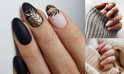 22 stylowe propozycje na manicure ze złotymi zdobieniami [GALERIA]