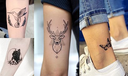 Animal tattoo - 17 przepięknych i ciekawych propozycji z sieci