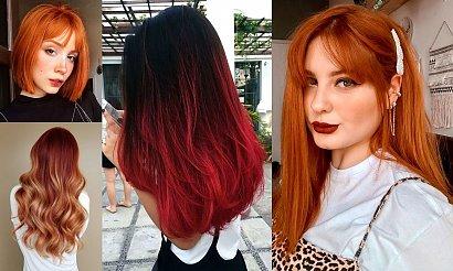 Koloryzacja włosów na JESIEŃ - czerwienie i rudości w modnych odsłonach