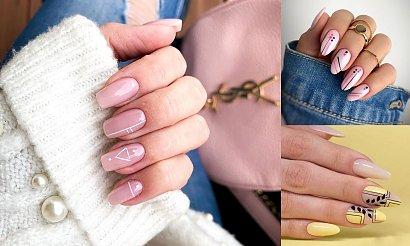 Geometryczny manicure - 21 stylowych propozycji