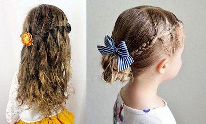 Fryzury dla dziewczynek - galeria ślicznych propozycji