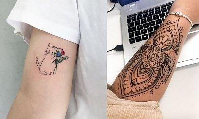 Kobiece tatuaże na rękę - kilkanaście pięknych i ciekawych propozycji