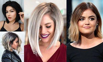 Genialne fryzury dla okrągłej twarzy - 16 efektownych cięć na udaną metamorfozę