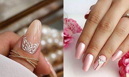 Ślubny manicure - galeria przepięknych i stylowych zdobień